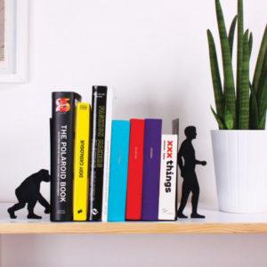 boekensteun evolutie van aap tot man