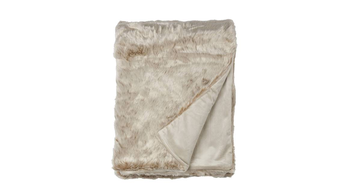 Plaid in fleece