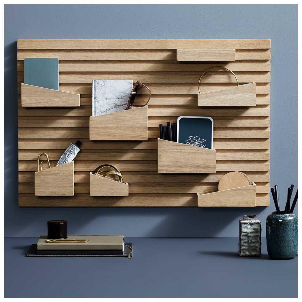 je-spullen-opbergen-in-stijl-woud-organiser-hout-wanddecoratie