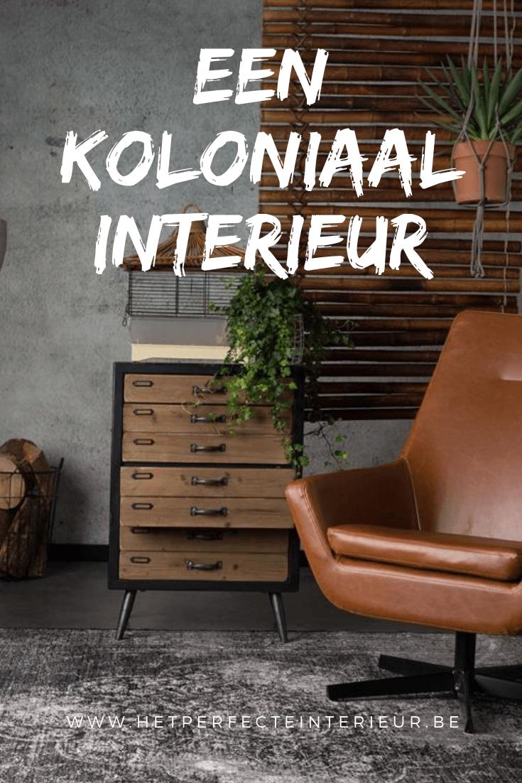 Koloniale stijl in uw interieur