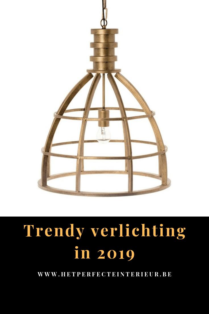 Trendy verlichting in 2019.