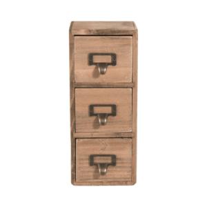 mini ladenkast in hout van Clayre & Eef