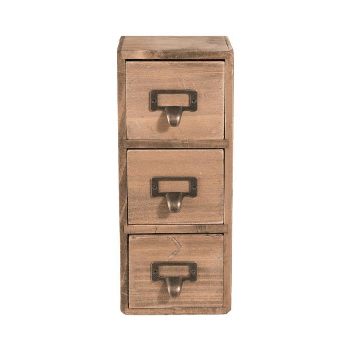 houten-ladekastje