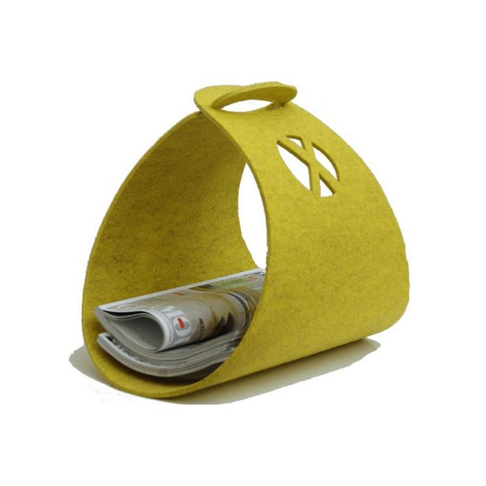je-spullen-opbergen-in-stijl-tijdschriftenhouder-geel