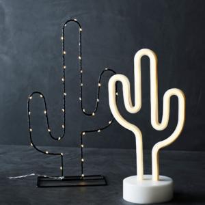cactus tafellamp