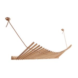 houten design wandkapstok