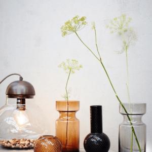 tafellamp in glas