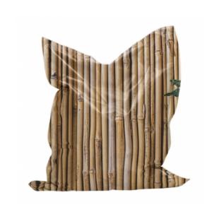 zitzak bamboeprint in polyester