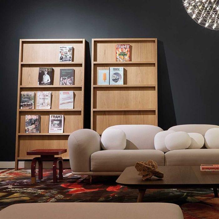 oblique boekenkast Marcel Wanders voor de boekenworm