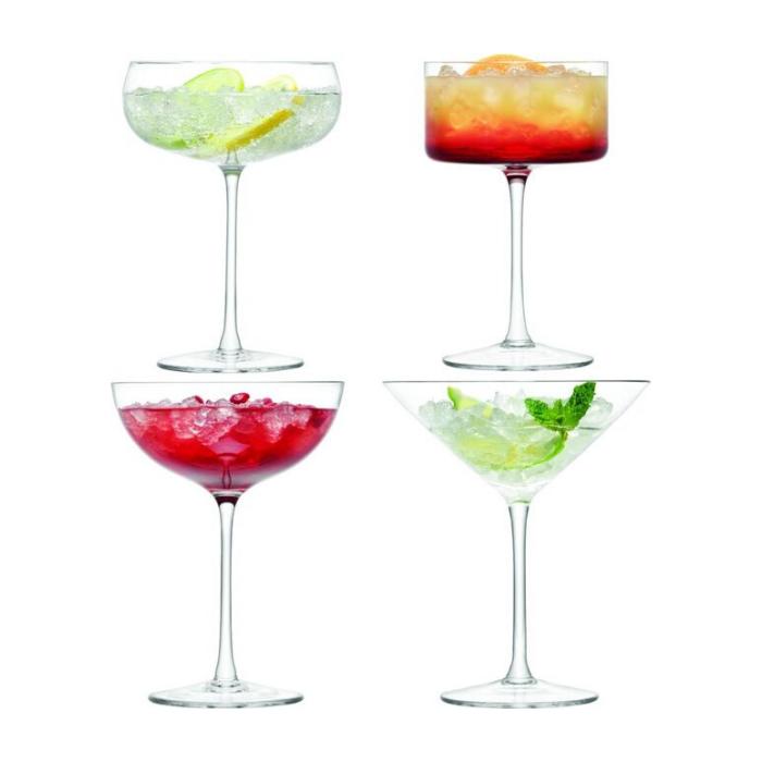 cocktail glazen set