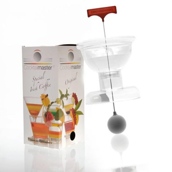 cocktailmaster voor cocktails met laagjes zelf te maken