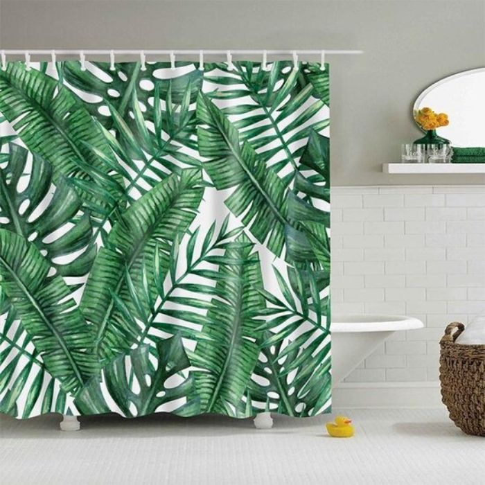 douchedoek met jungleprint van S.old in polyester