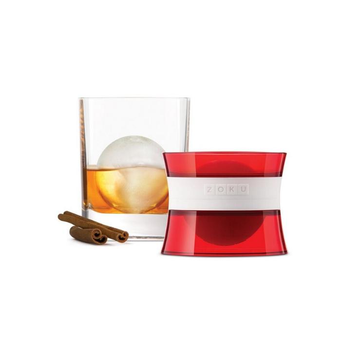 zolu ijsbalmaker rood voor cocktails