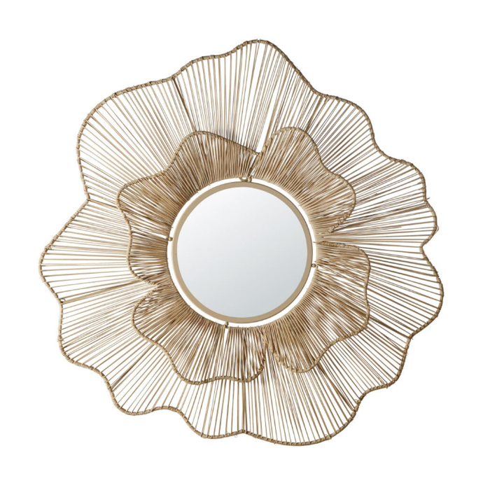 spiegel-bloemvorm