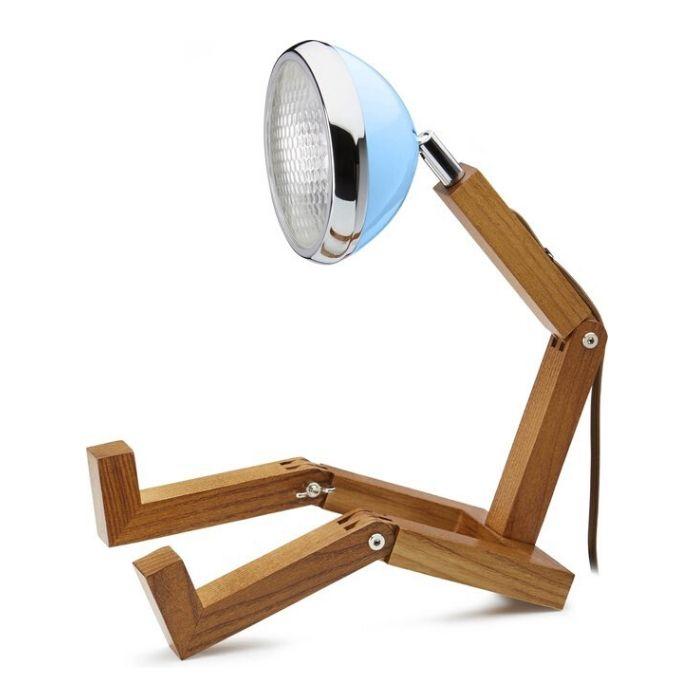 Mr Wattson tafellamp plooibaar voor de boekenworm