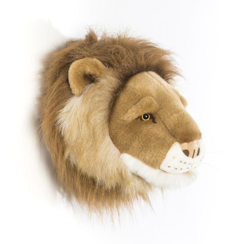 Wild&Soft leeuwenkop wanddecoratie